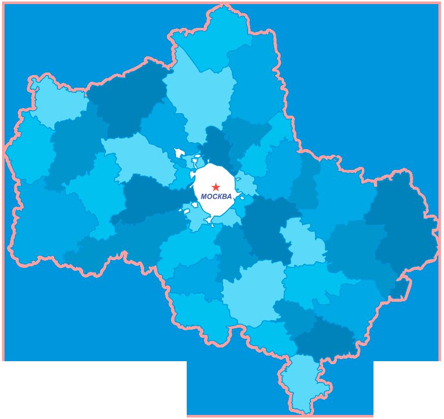 Карта продажи дизтоплива в Московской области
